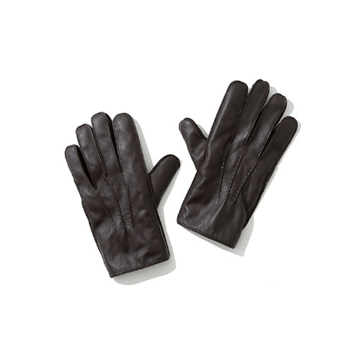 leather glove brown