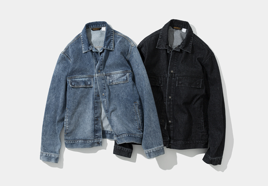 20ss denim trucker jacket