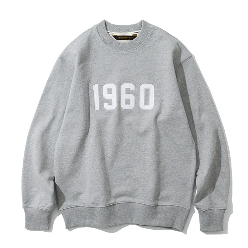 [예약배송] 1960 sweatshirts grey