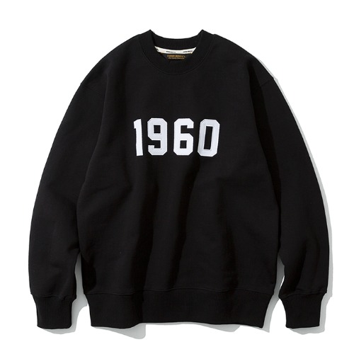 1960 sweatshirts black